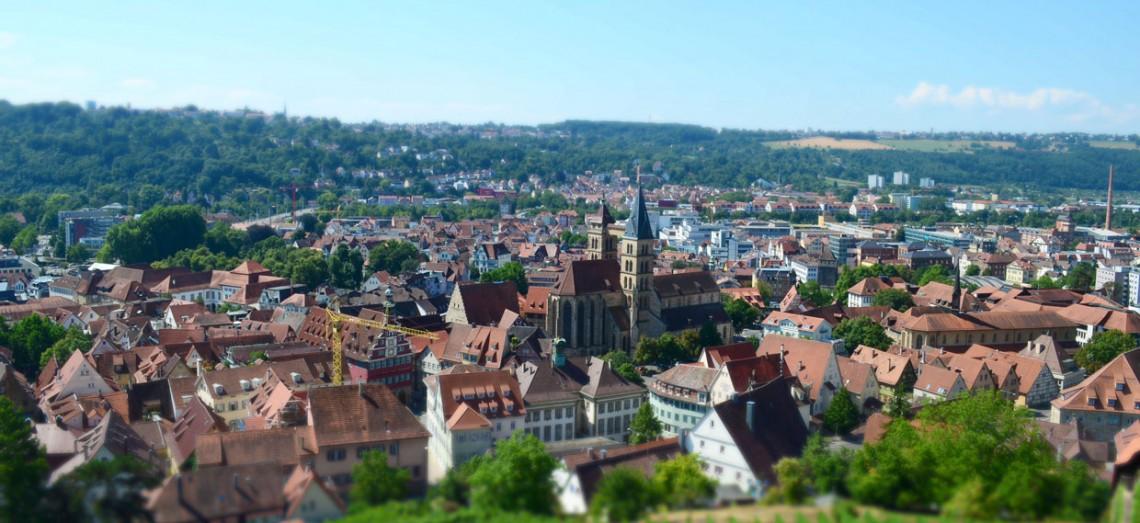 Bild von Esslingens Altstadt