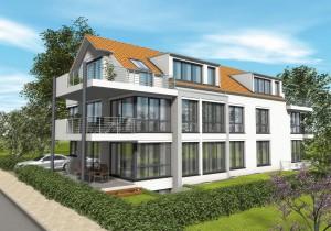 Mehrfamilienhauses mit Geothermie-Anlage geplant vom Architekturbüro Eisenbraun Ostfildern
