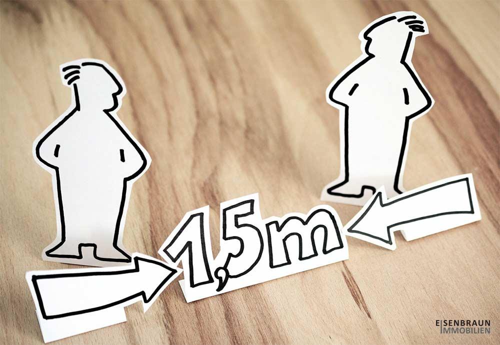 Mit Hygienekonzept Und 1,5m Abstand: Immobilienverkauf In Der Corona-Pandemie